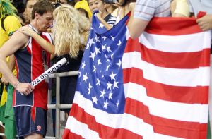 USA plays Brazil in men's volleyball final in Beijing