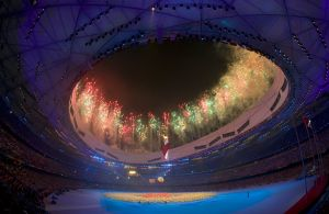 Closing ceremony for the 2008 Beijing Olympic Games in Beijing