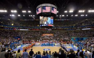 USA Olympic basketball game in Beijing